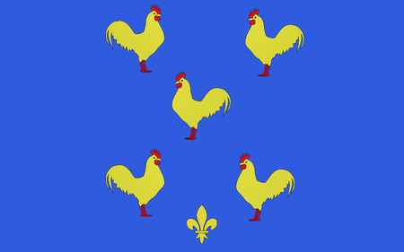 cantal: Flag of Yssingeaux is a commune and sous-pr�feture in the Haute-Loire department in south-central France.