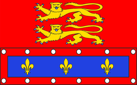 basse normandy: Flag of Orne - department in the northwest of France, one of the departments in the region Basse-Normandie. The administrative center - Alencon.