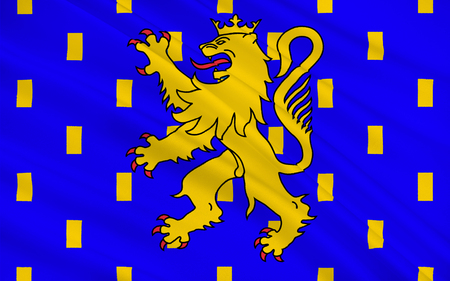 belfort: Flag of Franche-Comte - French Legion of four departments - Doubs, Jura, Haute-Saone and Territoire de Belfort. The two largest cities and Besancon Belfort-Montbeliard.