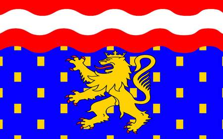 named: Flag of Haute-Saone is a French department of the Franche-Comte region named after the Saone River.