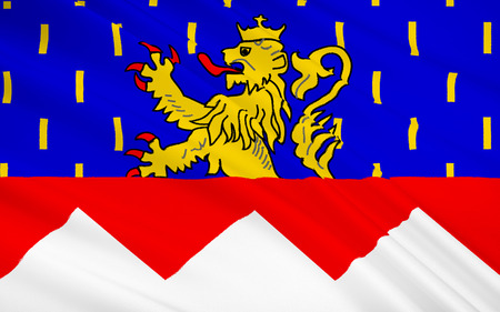 department: Flag of Jura is a department in the east of France named after the Jura mountains.
