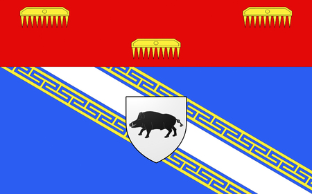 the ardennes: Flag of Ardennes is a department in the Alsace-Champagne-Ardenne-Lorraine region of northeastern France named after the Ardennes area. Its prefecture is the town Charleville-Mezieres. The inhabitants of the department are known as Ardennais or Ardennaises
