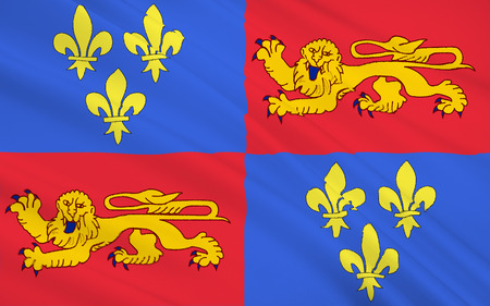 landes: Flag of Landes - department in southwestern France, a department in the Aquitaine region. The administrative center - Mont-de-Marsan.