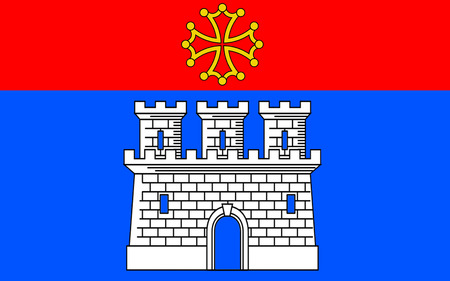 gascony: Flag of Castelsarrasin is a commune in the Tarn-et-Garonne department in Midi-Pyrenees region of France. The inhabitants are called Castelsarrasinois.