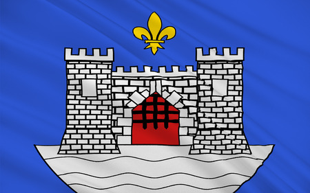 gironde: Flag of Blaye is a commune and subprefecture in the Gironde department in Aquitaine in southwestern France.
