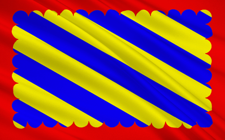 named: Flag of Nievre is a department in the region of Burgundy in the centre of France named after the River Nievre.