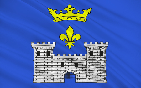 commune: Flag of Angouleme is a French commune, the capital of the Charente department, in the Poitou-Charentes region of France.
