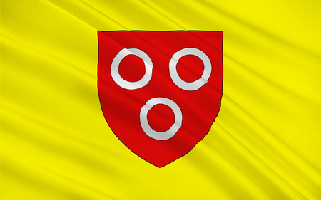 Flag of Macon, historically anglicized as Mascon, is a small city in east-central France. It is the prefecture of the department of Sa?ne-et-Loire, located in Burgundy. Reklamní fotografie