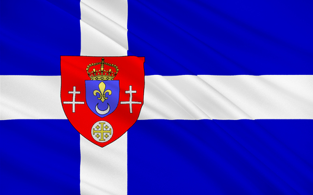 calais: Flag of Calais is a town and major ferry port in northern France in the department of Pas-de-Calais, of which it is a sub-prefecture.