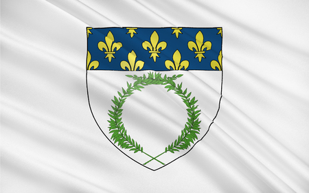 champagne region: Flag of Reims a city in the Alsace-Champagne-Ardenne-Lorraine region of France