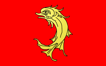 reaches: Flag of Loire is a department in the east-central part of France occupying the River Loire upper reaches.