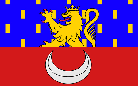 department: Flag of Vesoul is a commune in the Haute-Saone department in the region of Franche-Comte located in eastern France.