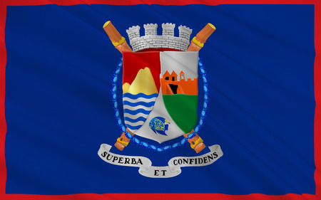 locals: Flag of Sint Eustatius also known affectionately to the locals as Statia of the Netherlands