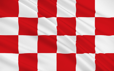 north brabant: Flag of North Brabant is a province in the south of the Netherlands