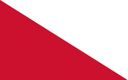utrecht: Flag of Utrecht is the capital and most populous city in the Dutch province of Utrecht Stock Photo