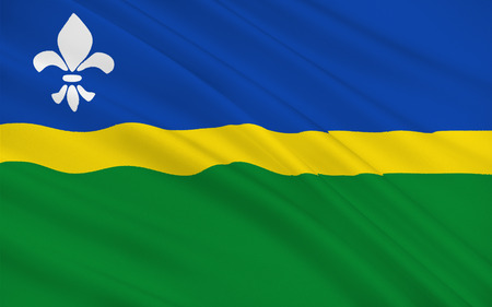 flevoland: Flag of Flevoland is a province of the Netherlands. Located in the centre of the country, at the location of the former Zuiderzee
