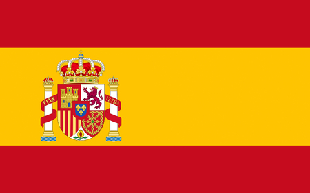 largely: Flag of Spain officially the Kingdom of Spain is a sovereign state largely located on the Iberian Peninsula in southwestern Europe