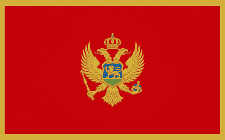 southeastern: Flag of Montenegro is a sovereign state in Southeastern Europe