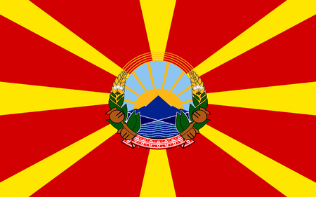 balkan peninsula: Flag of Macedonia officially the Republic of Macedonia is a country in the Balkan peninsula in Southeast Europe
