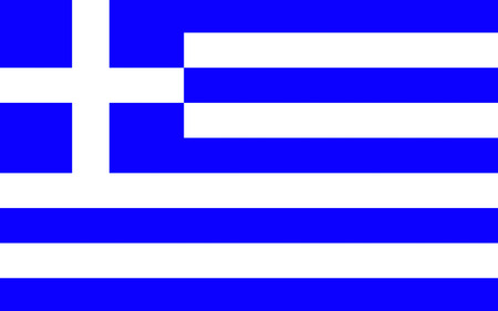 hellenic: Flag of Greece officially the Hellenic Republic also known since ancient times as Hellas is a country located in southeastern Europe Stock Photo