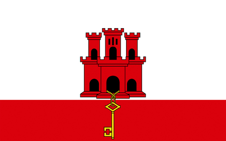overseas: Flag of Gibraltar is a British Overseas Territory located on the southern end of the Iberian peninsula