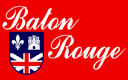 baton rouge: Flag of Baton Rouge is the capital of the U.S. state of Louisiana and its second-largest city