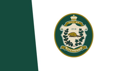 waterloo: Flag of City of Kitchener is a city in Southern Ontario, Canada