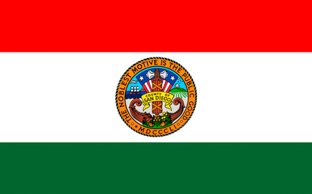 orange county: Flag of San Diego County is a county located in the southwestern corner of the state of California, in the United States