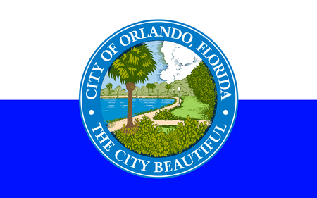 orange county: Flag of Orlando is a city in the U.S. state of Florida, and the county seat of Orange County