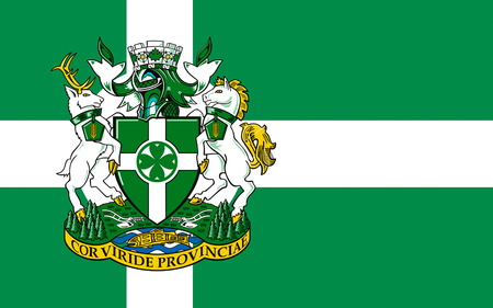 british columbia: Flag of Chilliwack is a city in British Columbia, Canada