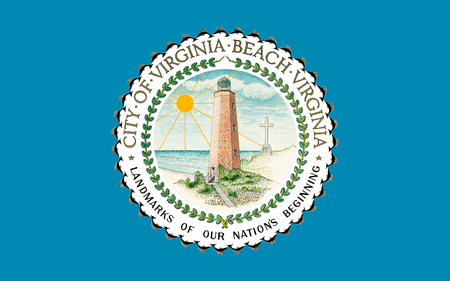 3d virginia: Flag of Virginia Beach is an independent city located in the U.S. state of Virginia