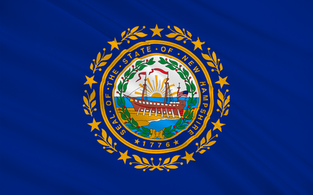 new england: Flag of New Hampshire is a state in the New England region of the northeastern United States