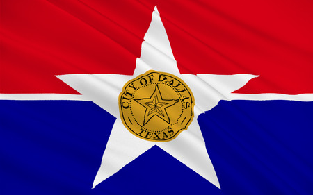 metropolitan: Flag of Dallas is a major city in the state of Texas and is the largest urban center of the fourth most populous metropolitan area in the United States