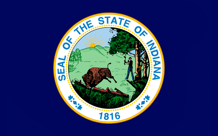 great lakes: Flag of Indiana is a U.S. state located in the midwestern and Great Lakes regions of North America