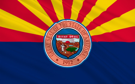 phoenix arizona: Flag of Arizona, Phoenix - United States