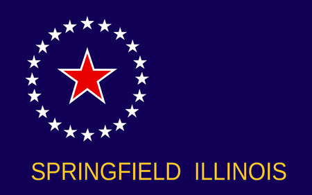 midwest: Flag of Springfield is the capital of the U.S. state of Illinois and the county seat of Sangamon County