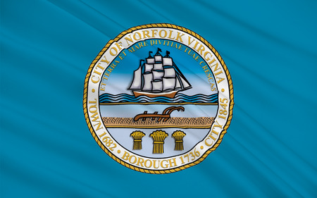 3d virginia: Flag of Norfolk is an independent city in the Commonwealth of Virginia, United States