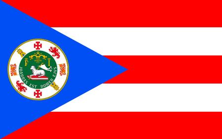 bandera de puerto rico: Bandera de Puerto Rico oficialmente la Commonwealth de Puerto Rico territorio de Estados Unidos situado en el noreste del Caribe