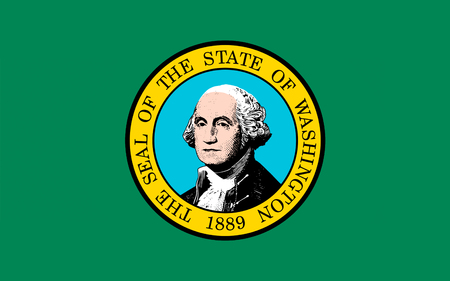 pacific northwest: Flag of Washington is a state in the Pacific Northwest region of the United States located north of Oregon