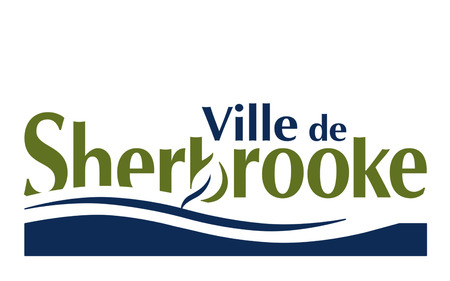 canadian state flag: Flag of Sherbrooke is a city in southern Quebec, Canada