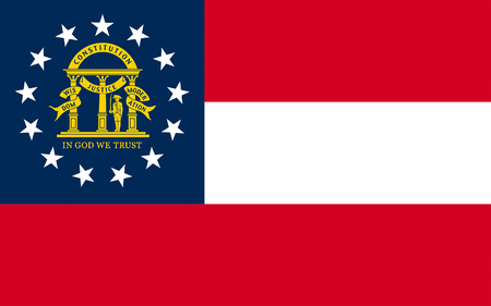 southeastern: Flag of Georgia is a state located in the southeastern United States