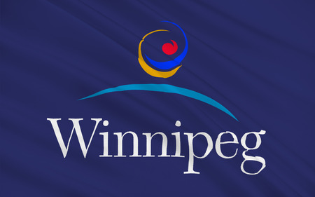manitoba: Flag of Winnipeg is the capital and largest city of the province of Manitoba in Canada.