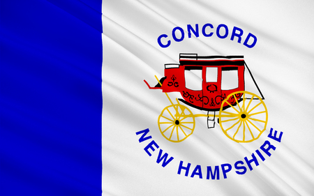 concord: Flag of Concord is the capital city of the U.S. state of New Hampshire and the county seat of Merrimack County