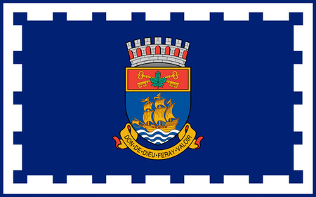 quebec city: Flag of Quebec city is the capital of the province of Quebec in Canada