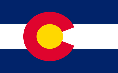 collins: Flag of Colorado, Denver - United States