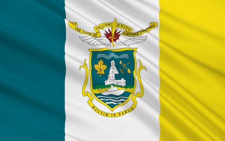 territories: Flag of Yellowknife is the capital city and largest community of the Northwest Territories (NT or NWT), Canada