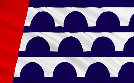 american midwest: Flag of Des Moines is the capital and the most populous city in the U.S. state of Iowa