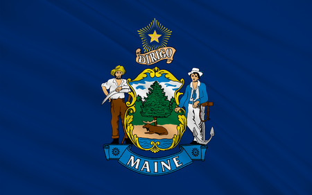 new england: Flag of Maine is a state in New England, in the United States