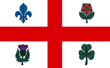 quebec: Flag of Montreal is the most populous city in the province of Quebec. It is the second most populous municipality in Canada after Toronto