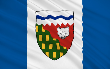northwest: Flag of Northwest Territories (NWT) is a territory of Canada